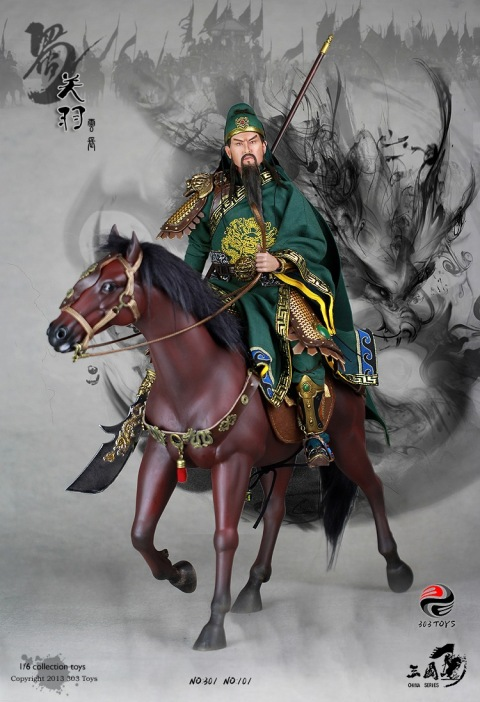 PRE ORDER: 1/6 Three Kingdom Series: Guan Yu (Limited Stock)